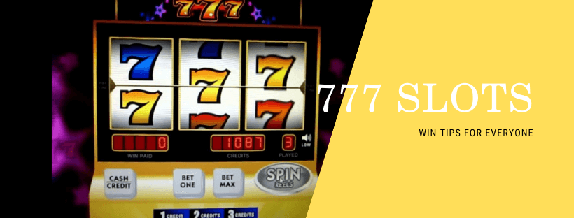 777 casino slot machine