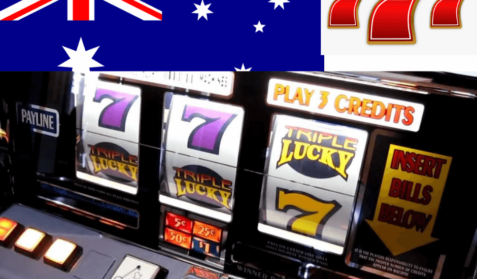 Triple 777 slot machines Australia